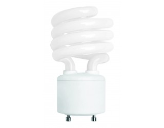 (4 Pack) KOR K21143 - CF23/GU24/50K - Compact Fluorescent - 23 Watt (100W Equivalent) - 120 Volt - T2 - Self Balasted - Twist and Lock (GU24) - 5,000 Kelvin (Bright White)