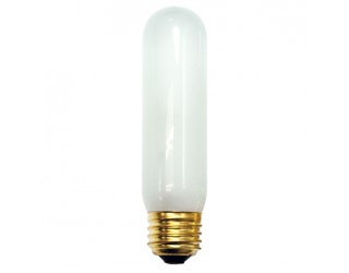 Bulbrite 704225 - 25T10F/HO - 25 Watt - 130 Volt - Incandescent - T10 - Medium (E26) - Frosted - 2,800 Kelvin