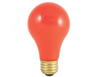 Bulbrite 106560 - 60A/CO - 60 Watt - 120 Volt - Incandescent - A19 - Medium (E26) - Ceramic Orange - 2,700 Kelvin