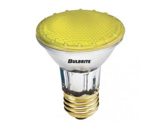 Bulbrite 683508 - H50PAR20Y - 50 Watt - 120 Volt - Halogen - PAR20 - Medium (E26) - Yellow