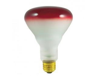 Bulbrite 247075 - 75BR30R - 75 Watt - 120 Volt - Incandescent - BR30 - Medium (E26) - Red - 2,700 Kelvin