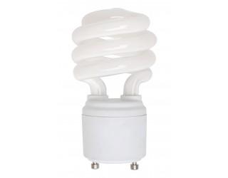 (4 Pack) KOR K21044 - CF13/GU24/50K - Compact Fluorescent - 13 Watt (60W Equivalent) - 120 Volt - T2 - Self Balasted - Twist and Lock (GU24) - 5,000 Kelvin (Bright White)