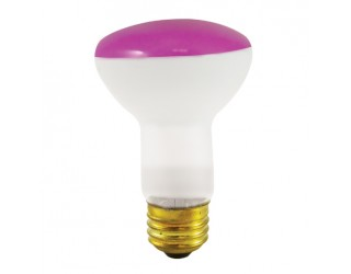 Bulbrite 226050 - 50R20P - 50 Watt - 120 Volt - Incandescent - R20 - Medium (E26) - Pink - 2,700 Kelvin