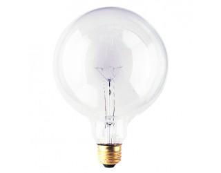 Bulbrite 351060 - 60G40CL - Incandescent - 60 Watt - 125 Volt - G40 - Medium (E26) - Clear - 2,600 Kelvin