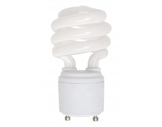 (4 Pack) KOR K21020 - CF13/GU24/35K - Compact Fluorescent - 13 Watt (60W Equivalent) - 120 Volt - T2 - Self Balasted - Twist and Lock (GU24) - 3,500 Kelvin (Neutral White)