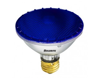 Bulbrite 683753 - H75PAR30B - 75 Watt - 120 Volt - Halogen - PAR30 - Medium (E26) - Blue