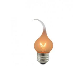 Bulbrite 411007 - SF/7.5S11 - 7.5 Watt - 120 Volt - Incandescent - S11 - Medium (E26) - Silicone - 2,500 Kelvin