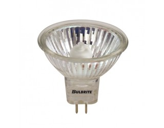 Bulbrite 620020 - BAB/120 - 20 Watt - 120 Volt - Halogen - MR16 - Bi-Pin (GU5.3) - Clear - 2,500 Kelvin
