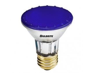 Bulbrite 683503 - H50PAR20B - 50 Watt - 120 Volt - Halogen - PAR20 - Medium (E26) - Blue