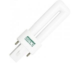 Sylvania 21278 / 20303 - CF5DS/841/ECO - Compact Fluorescent - 5 Watt - T4 - Single Tube - 2-Pin (G23) - 4,100 Kelvin (Cool White)