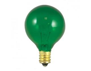Bulbrite 304010 - 10G12G - 10 Watt - 130 Volt - Incandescent - G12 - Candelabra (E12) - Transparent Green - 2,700 Kelvin