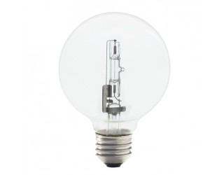 Bulbrite 616443 - 43G25CL/ECO - 43 Watt - 120 Volt - Halogen - G25 - Medium (E26) - Clear - 2,900 Kelvin