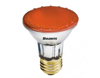 Bulbrite 683502 - H50PAR20A - 50 Watt - 120 Volt - Halogen - PAR20 - Medium (E26) - Amber