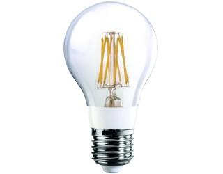 Luxrite LR21238 - LED7A19/CL/27K - Filament LED - 7 Watt (75 Watt Replacement) - 120 Volt - A19 - Medium (E26) - Clear - 2,700 Kelvin (Warm White)