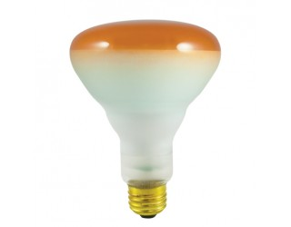 Bulbrite 242075 - 75BR30A - 75 Watt - 120 Volt - Incandescent - BR30 - Medium (E26) - Amber - 2,700 Kelvin