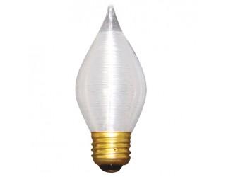 Bulbrite 431060 - 60C15S - 60 Watt - 130 Volt - Incandescent - C15 - Medium (E26) - Satin - 2,600 Kelvin