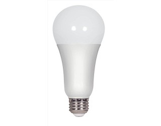 (4 pack ) Satco S8789 - LED 16 Watt - A21 - 2700K - (100W Equivalent) - 16A21/LED/27K/ND/120V/4PK