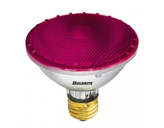 Bulbrite 683756 - H75PAR30P - 75 Watt - 120 Volt - Halogen - PAR30 - Medium (E26) - Pink