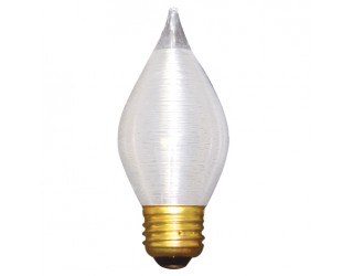 Bulbrite 431040 - 40C15S - 40 Watt - 130 Volt - Incandescent - C15 - Medium (E26) - Satin - 2,600 Kelvin