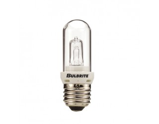 Bulbrite 614076 - Q75CL/EDT - 75 Watt - 120 Volt - Halogen - T8 - Medium (E26) - Clear - 2,850 Kelvin