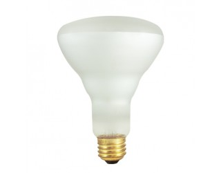(2 Pack) Bulbrite 294826 - 65BR30FL2/2P - 65 Watt - 120 Volt - Incandescent - BR30 - Medium (E26) - Clear - 2,700 Kelvin