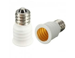 Candelabra Base (E12) To European Base (E14) Light Bulb Socket Adapter