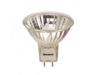 Bulbrite 620320 - BAB/GY8 - Halogen - 20 Watt - 120 Volt - MR16 - Bi-Pin (GY8) - Cover Glass - Clear - 2,500 Kelvin