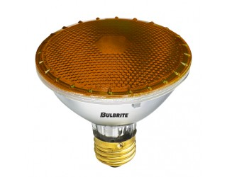 Bulbrite 683752 - H75PAR30A - 75 Watt - 120 Volt - Halogen - PAR30 - Medium (E26) - Amber
