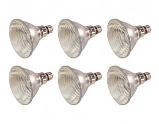 (6 Pack) KOR K01211 - 70PAR38/FL 120V - 70 Watt High Output (90W Replacement) PAR38 Flood - 120 Volt - Halogen Light Bulbs