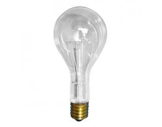 Bulbrite 101300 - 300PS25CL - 300 Watt - 130 Volt - Incandescent - PS25 - Medium (E26) - Clear - 2,700 Kelvin