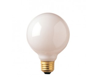 Bulbrite 393004 - 40G25WH2 - 40 Watt - 120 Volt - Incandescent - G25 - Medium (E26) - White - 2,600 Kelvin