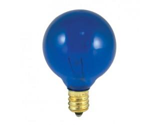 Bulbrite 303010 - 10G12B - 10 Watt - 130 Volt - Incandescent - G12 - Candelabra (E12) - Transparent Blue - 2,700 Kelvin