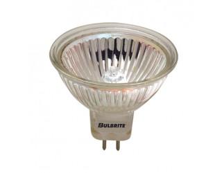 Bulbrite 641320 - BAB - 20 Watt - 12 Volt - Halogen - MR16 - Bi-Pin (GU5.3) - Clear - 2,850 Kelvin