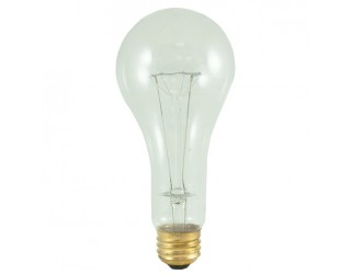 Bulbrite 101201 - 200A/CL/HL - 200 Watt - 120 Volt - Incandescent - A23 - Medium (E26) - Clear - 2,900 Kelvin
