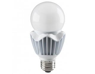Satco S8736 - 20WA21/LED/HID/5000K/120V/DIM/E26 – Hi-Pro LED HID Replacement - 20 Watt - 120 Volt - A21 - Medium (E26) - Dimmable - Frosted White - 5,000 Kelvin ( Natural Light / Daylight ). Replaces HID 70 Watt Bulb.