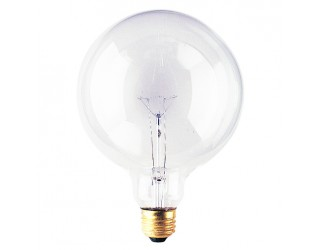 Bulbrite 351100 - 100G40CL - 100 Watt - 125 Volt - Incandescent - G40 - Medium (E26) - Clear - 2,700 Kelvin