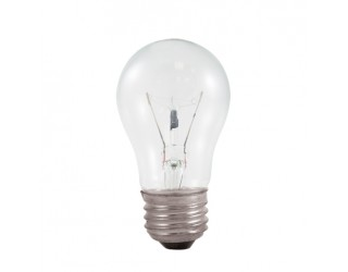 Bulbrite 104125 - 25A15C - 25 Watt - 130 Volt - Incandescent - A15 - Medium (E26) - Clear - 2,700 Kelvin