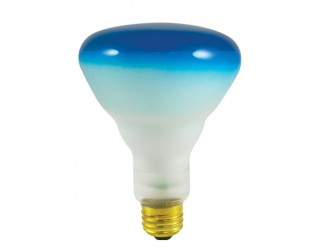 Bulbrite 243075 - 75BR30B - 75 Watt - 120 Volt - Incandescent - BR30 - Medium (E26) - Blue - 2,700 Kelvin