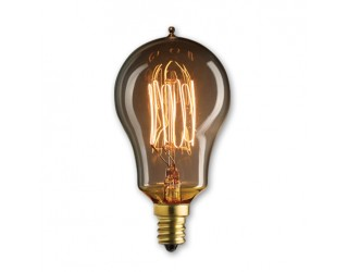 Bulbrite 132515 - NOS25A15/SQ/E12 - 25 Watt - 120 Volt - Incandescent - A15 - Candelabra (E12) - Antique - 1,800 Kelvin