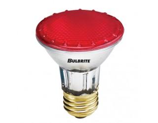 Bulbrite 683507 - H50PAR20R - 50 Watt - 120 Volt - Halogen - PAR20 - Medium (E26) - Red