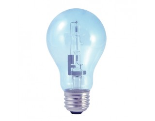 Bulbrite 616253 - 53A19CL/N/ECO - 53 Watt - 120 Volt - Halogen - A19 - Medium (E26) - Clear - 2,900 Kelvin