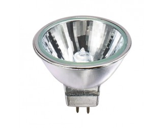 GE 642452 - 50MR16C/CG40 - 50 Watt - 12 Volt - Halogen - MR16 - Bi-Pin (GU5.3) - Clear - 3,050 Kelvin