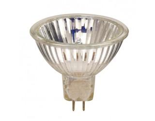 Sylvania 641535 - 50MR16IRFL - 50 Watt - 12 Volt - Halogen - MR16 - Bi-Pin (GU5.3) - Clear - 3,100 Kelvin