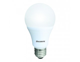 (2 Pack) Bulbrite 774107 - LED9A19/830/4PK - LED - 120 Volt - 9.5 Watt - A19 - Medium (E26) - Non-Dimmable - 3,000 Kelvin (Soft White)