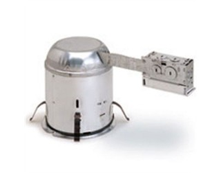 Nora NHRIC-17QAT - 6 in. - Insulated Ceiling Airtight Remodel Housing with Quick Connectors - 120 Volt
