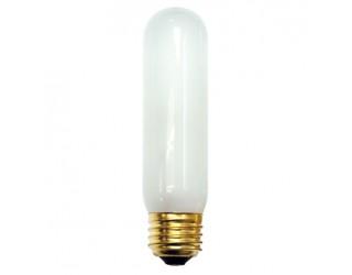 Bulbrite 704060 - 60T10F - 60 Watt - 130 Volt - Incandescent - T10 - Medium (E26) - Frosted - 2,800 Kelvin