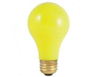 Bulbrite 106825 - 25A/CY - 25 Watt - 120 Volt - Incandescent - A19 - Medium (E26) - Ceramic Yellow - 2,700 Kelvin