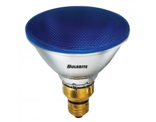 Bulbrite 683903 - H90PAR38B - 90 Watt - 120 Volt - Halogen - PAR38 - Medium (E26) - Blue