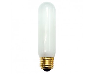 Bulbrite 704040 - 40T10F - 40 Watt - 130 Volt - Incandescent - T10 - Medium (E26) - Frosted - 2,800 Kelvin