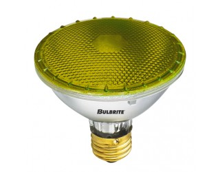 Bulbrite 683758 - H75PAR30Y - 75 Watt - 120 Volt - Halogen - PAR30 - Medium (E26) - Yellow